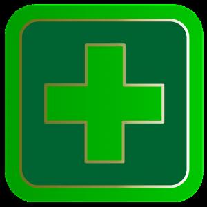 green medical symbol