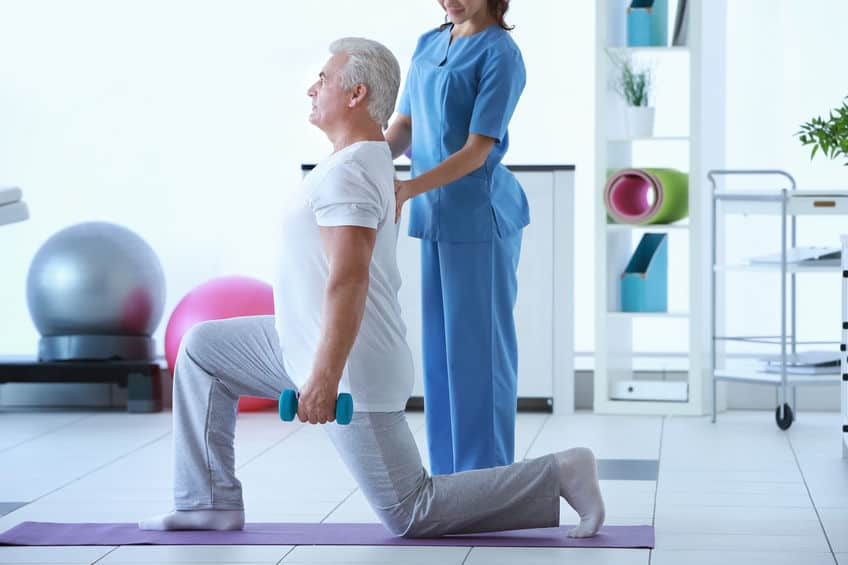 The benefit of replacing opioids with physical therapy.